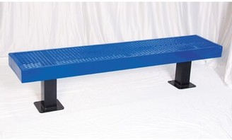 Ultra Play Steel Mall Bench Ultra Play Color: Black / Black