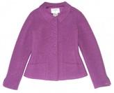 Chanel Purple Wool Jacket for Women Vintage