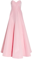 Andrew Gn Pink Bustier Gown