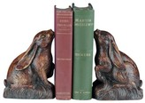 The Well Appointed House Honey Maple Rabbit Bookends