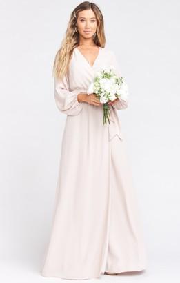 Show Me Your Mumu Lady Long Sleeve Wrap Dress