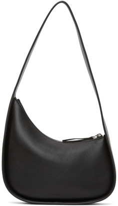 The Row Black Half Moon Bag