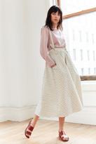 Mara Hoffman Suspender Midi Skirt
