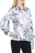 Vince Camuto Speckle Atmosphere Blouse