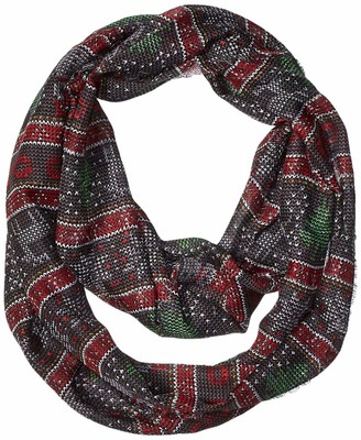 Collection XIIX Women's Ugly Christmas Sweater Loop Scarf