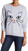Paul & Joe Sister Ze Cat Embroidered Sweatshirt