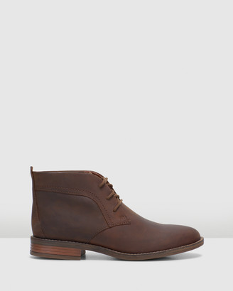 Clarks Women's Brown Lace-up Boots - Camzin Grace - Size One Size, 3 at The Iconic