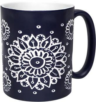 Enchante Indigo Pattern Mug