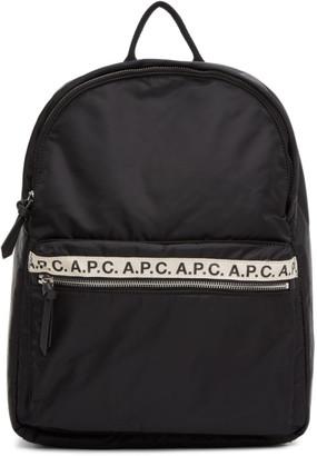 A.P.C. Black Sally Backpack