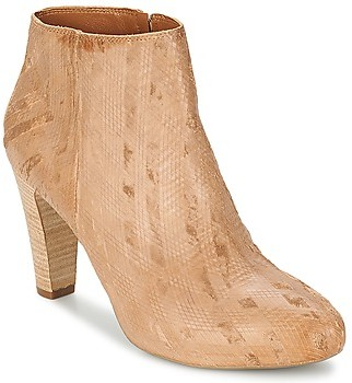VIC RIBE INTAGLIATO women's Low Ankle Boots in Brown
