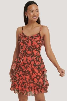 Trendyol Floral Printed Mini Dress