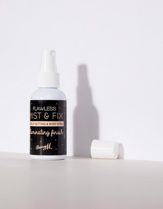 Barry M Flawless Mist & Fix Setting & Body Spray Illuminating Finish