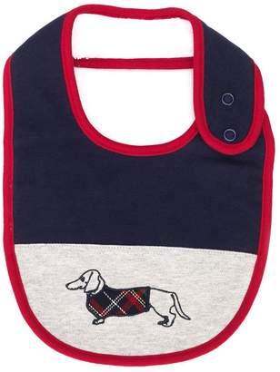 Harmont & Blaine Junior embroidered dog graphic bib