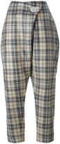 Vivienne Westwood checked cropped pants