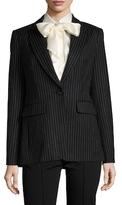 Rachel Zoe Calla Wool Striped Jacket