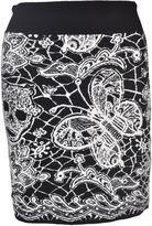 Philipp Plein Wool Skirt