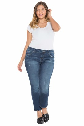 SLINK Jeans The Easy High Rise Straight Pants in Sheela Size 14