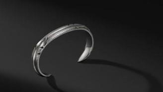 David Yurman Southwest Feather Wrap Cuff Bracelet