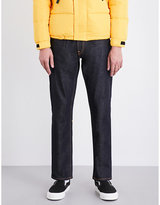 Evisu Koi-embroidered Regular-fit Striaght Jeans