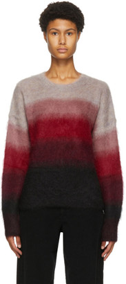 Etoile Isabel Marant Red and Black Drussel Sweater