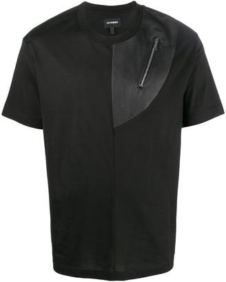 Les Hommes zipped pocket T-shirt
