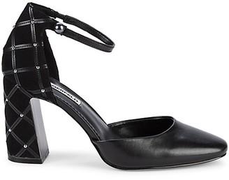 Karl Lagerfeld Paris Ankle d'Orsay Pumps