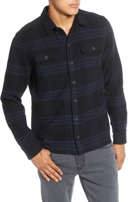 Paige Williams Regular Fit Plaid Button-Up Flannel Shirt Jacket
