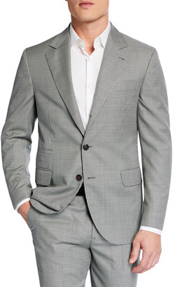 Brunello Cucinelli Men's Micro-Houndstooth Two-Piece Wool Suit