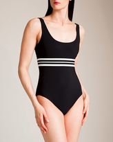 Karla Colletto Parallel U-Wire Tank Swimsuit