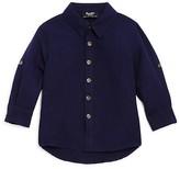 Bardot Junior Boys' Linen-Blend Beach Shirt - Baby