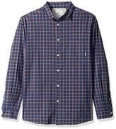 Quiksilver Men's Everyday Check Long Sleeve Plaid Shirt