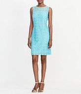 Lauren Ralph Lauren Geometric Lace Sheath Dress