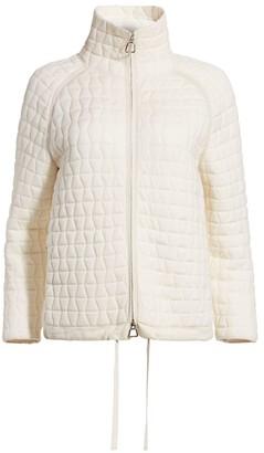 Akris Quilted Wool-Blend Jacket