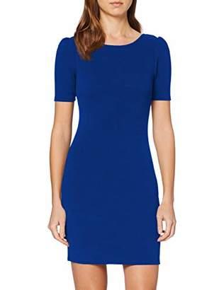 Dorothy Perkins Women's Short Puff Sleeve Bodycon Mini Dress,8 (Size:8)