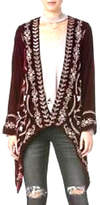 Miss Me Crushed Velvet Embroideredjacket