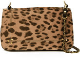 Jerome Dreyfuss Bobi leopard print bag - women - Cotton/Lamb Skin/Calf Hair - One Size