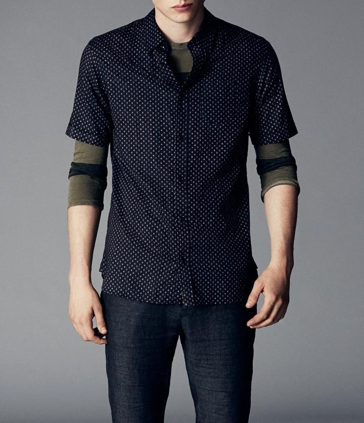 AllSaints Spade Short Sleeved Shirt
