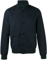 Aspesi high neck jacket - men - Cotton/Polyamide/Polyester/Spandex/Elastane - XXL