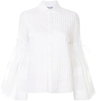 Dice Kayek Pleated Design Shirt