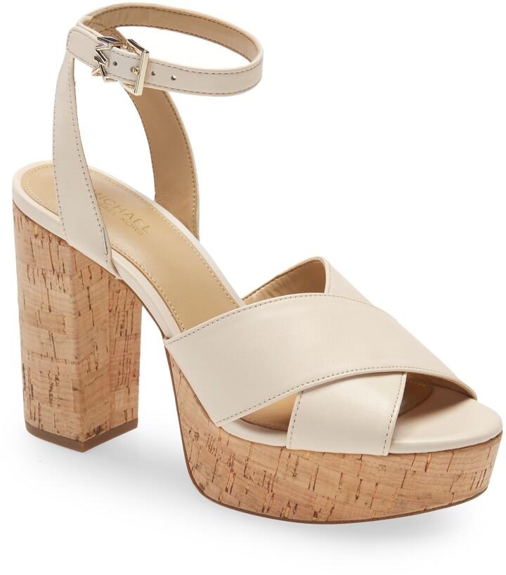 MICHAEL Michael Kors Odette Ankle Strap Platform Sandal