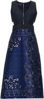 Burberry Patchwork paisley-print midi dress