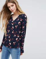 Vila Printed Blouse