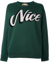 No.21 'Nice' sweatshirt