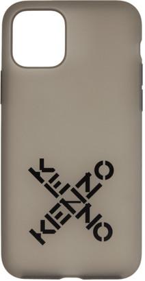 Kenzo Black Sport Logo iPhone 11 Pro Case