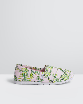The Bondi Shoe Club - Women's Espadrilles - The Manly Beach Monsteras - Size One Size, 5 at The Iconic