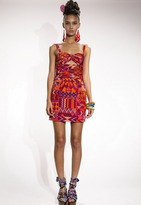 Mara Hoffman Ruched Keyhole Party Dress -