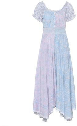 LoveShackFancy Ren floral cotton dress