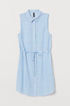 H&M Sleeveless shirt dress