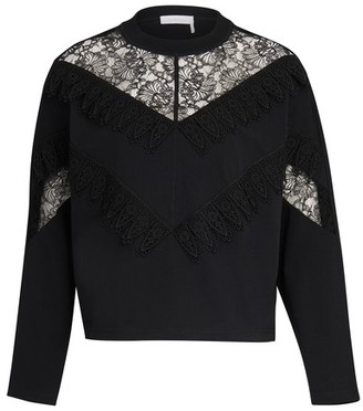 See by Chloe Laced jumper
