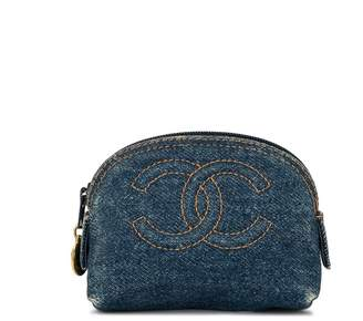 Chanel Pre Owned CC coin purse